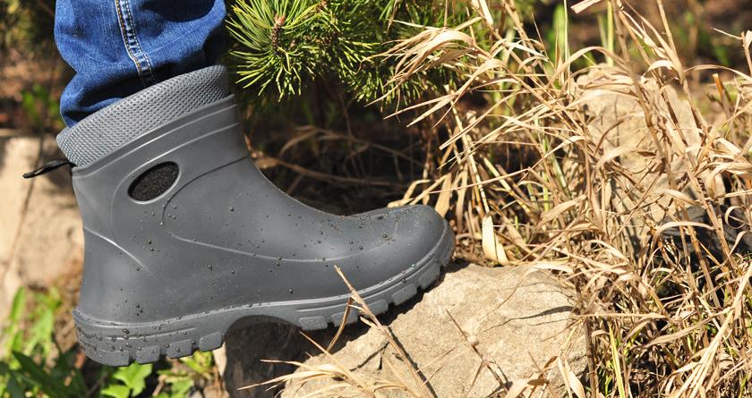 Обувь из ЭВА – легкий способ сохранять ноги теплыми и сухими