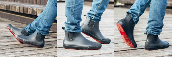 Мужские резиновые ботинки для города