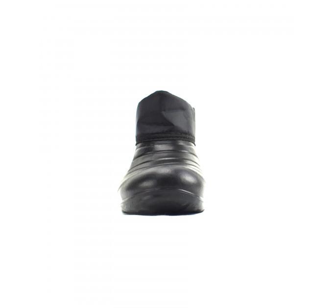Галоши ЭВА с манжетой и утеплителем «Барс Гео Плюс», черные