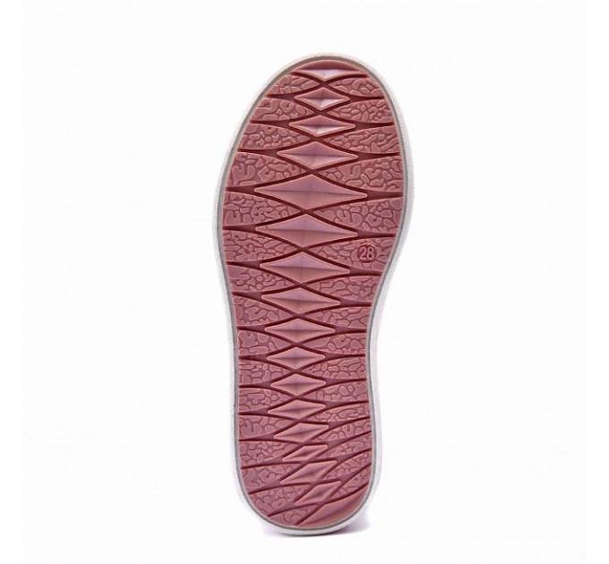 Ботинки демисезонные Nordman Go на липучках для девочки, розовые