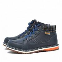 Ботинки демисезонные Nordman Go на шнуровке, темно-синие