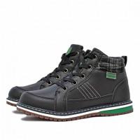 Ботинки демисезонные Nordman Go на шнуровке, черные