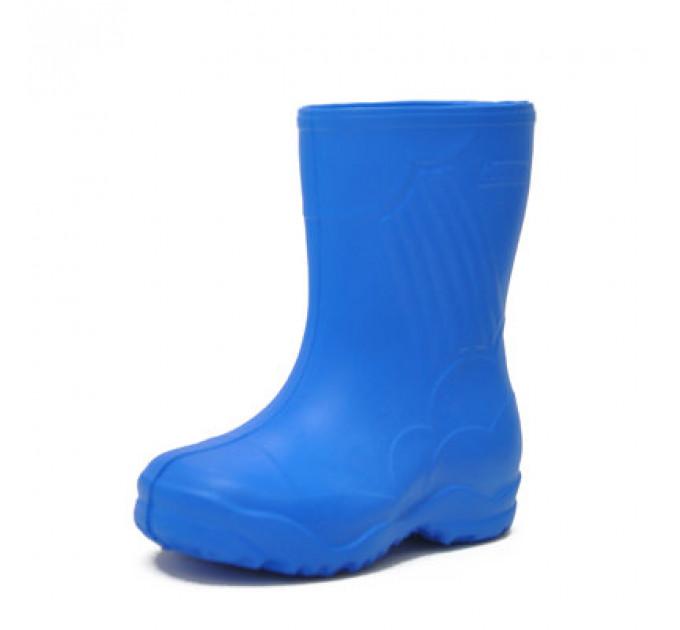 Сапожки резиновые детские из ЭВА Nordman Sun с утеплителем, синие
