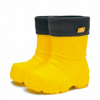 Сапоги Nordman Kids из ЭВА с флисовым утеплителем, желтые