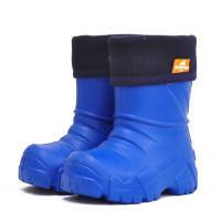 Сапоги Nordman Kids из ЭВА с флисовым утеплителем, синие