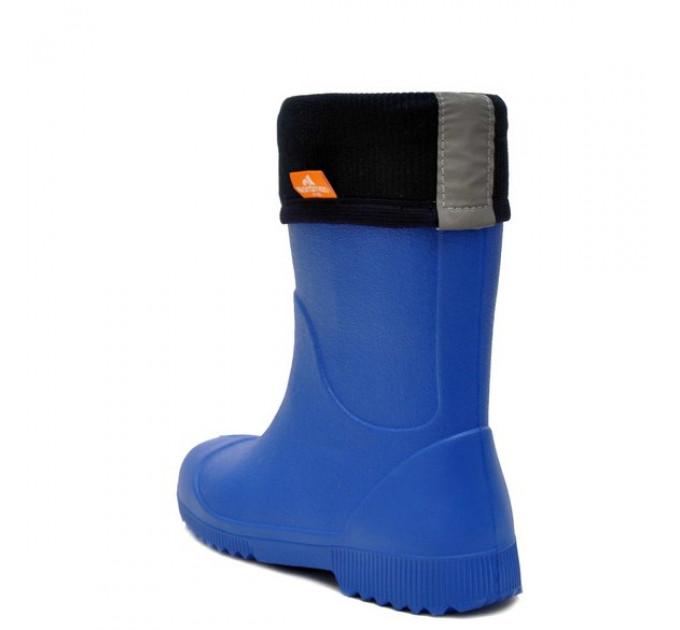Детские сапоги из ЭВА Nordman Jet с флисовым утеплителем, синие