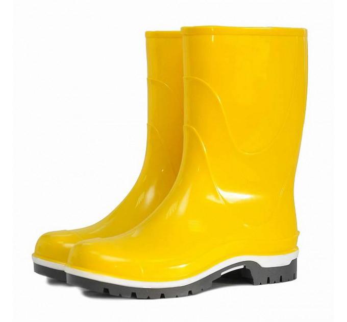 Подростковые сапоги ПВХ Nordman Drop, желтые