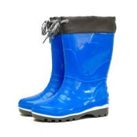 Детские утепленные сапоги Nordman Step с манжетой, светло-синие
