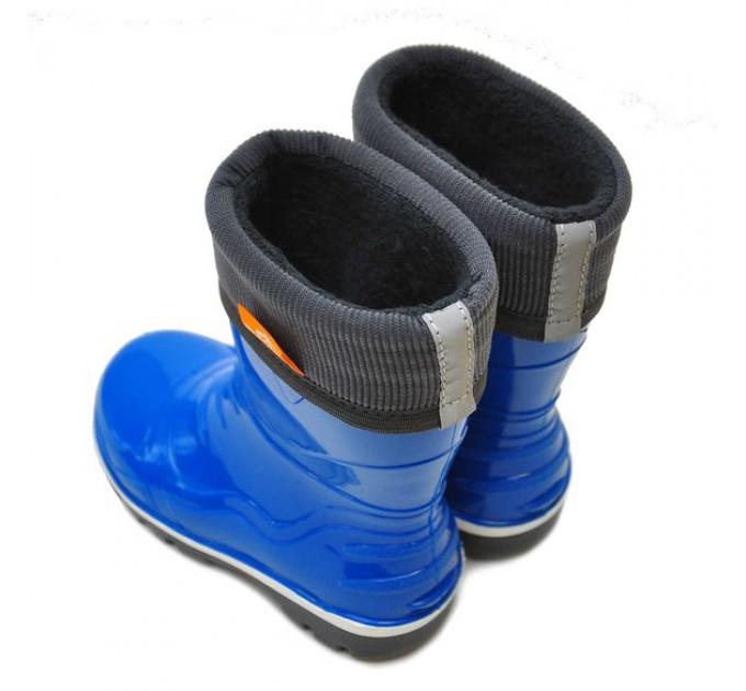 Детские сапоги Nordman Step с флисовым утеплителем, светло-синие