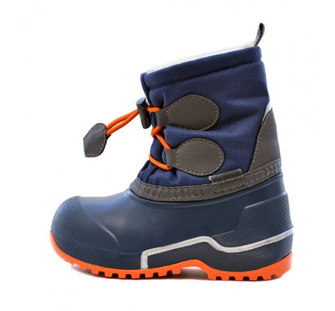 Сноубутсы Nordman Cross из ЭВА+ТЭП, синий/оранжевый