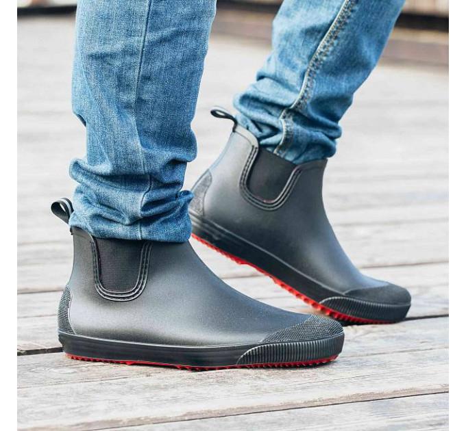 Мужские ботинки Nordman Beat, цвет чёрный/красный