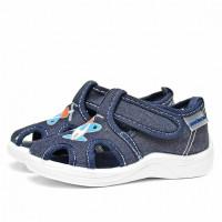 Туфли детские Nordman Stars (модель 2), темно-синие