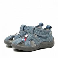 Туфли детские Nordman Stars (модель 2), светло-серые