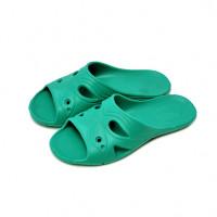 Тапочки домашние женские из ЭВА, зеленые