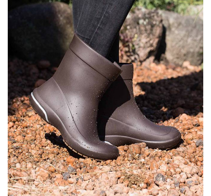 Женские сапоги Nordman Kleo из ЭВА, коричневые с песочным